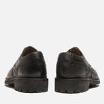 Мужские ботинки броги Grenson Archie Brogue Black фото- 3