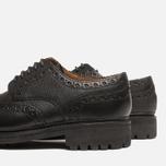 Мужские ботинки броги Grenson Archie Brogue Black фото- 6