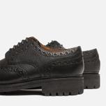 Мужские ботинки Grenson Archie Brogue Black фото- 6