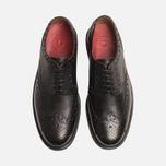 Мужские ботинки броги Grenson Archie Brogue Black фото- 4