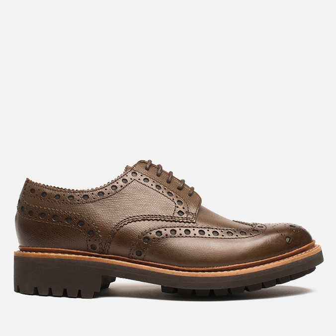 Мужские ботинки Grenson Archie Brogue Dark Brown