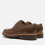 Мужские ботинки Grenson Archie Brogue Dark Brown фото- 2