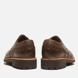 Мужские ботинки Grenson Archie Brogue Dark Brown фото- 3