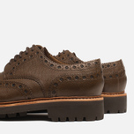 Мужские ботинки Grenson Archie Brogue Dark Brown фото- 6
