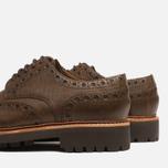 Мужские ботинки Grenson Archie Brogue Dark Brown фото- 6