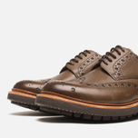 Мужские ботинки Grenson Archie Brogue Dark Brown фото- 5