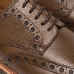 Мужские ботинки Grenson Archie Brogue Dark Brown фото- 7
