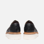 Grenson Archie V Brogue Men's Shoes Black photo- 3