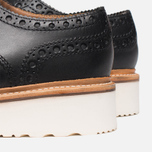 Grenson Archie V Brogue Men's Shoes Black photo- 6