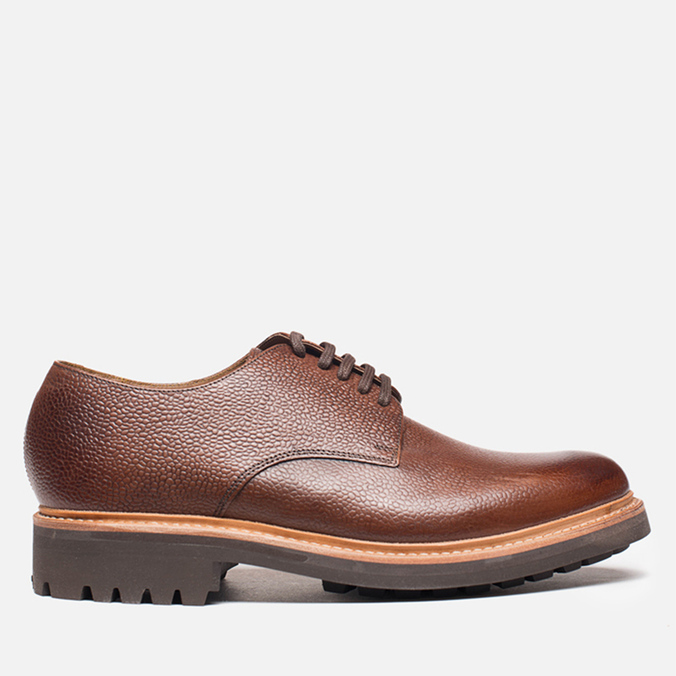 Grenson Curt Gibson Shoes Brown