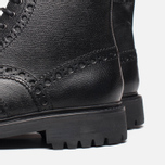 Мужские ботинки Grenson Fred Commando Sole Brogue Derby Boot Alpine Grain Black фото- 6