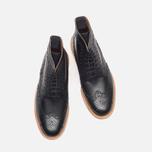 Мужские ботинки Grenson Fred V Boot Black фото- 4