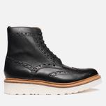 Мужские ботинки Grenson Fred V Boot Black фото- 0