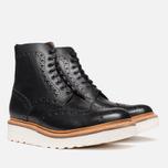 Мужские ботинки Grenson Fred V Boot Black фото- 1