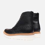 Мужские ботинки Grenson Fred V Boot Black фото- 2
