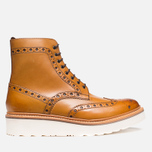 Grenson Fred V Boots Tan photo- 0