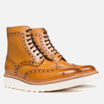 Grenson Fred V Boots Tan photo- 1