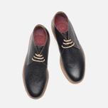 Мужские ботинки Grenson Oscar Chukka Black фото- 4