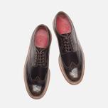 Grenson Sid Long Wing Brogue Men's Shoes Brown photo- 4