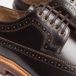 Мужские ботинки Grenson Sid Long Wing Brogue Brown фото- 7