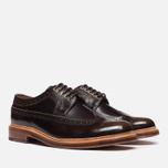Мужские ботинки Grenson Sid Long Wing Brogue Brown фото- 1
