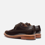 Мужские ботинки Grenson Sid Long Wing Brogue Brown фото- 2