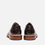 Мужские ботинки Grenson Sid Long Wing Brogue Brown фото- 3