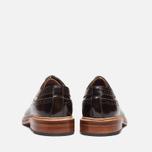 Grenson Sid Long Wing Brogue Men's Shoes Brown photo- 3