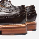 Grenson Sid Long Wing Brogue Men's Shoes Brown photo- 6