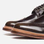 Grenson Sid Long Wing Brogue Men's Shoes Brown photo- 5