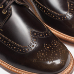 Мужские ботинки Grenson Sid Long Wing Brogue Brown фото- 8