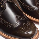 Grenson Sid Long Wing Brogue Men's Shoes Brown photo- 8