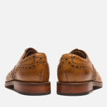 Grenson Stanley Brogue Men's Shoes Tan photo- 3