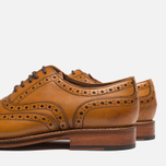Grenson Stanley Brogue Men's Shoes Tan photo- 6