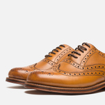 Grenson Stanley Brogue Men's Shoes Tan photo- 5