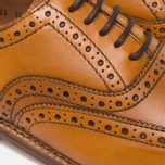 Grenson Stanley Brogue Men's Shoes Tan photo- 7