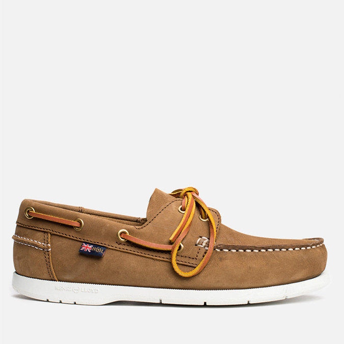 Мужские ботинки Henri Lloyd Arkansa Boat Shoe Brown