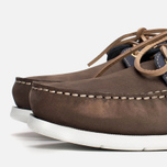 Мужские ботинки Henri Lloyd Arkansa Boat Shoe Dark Brown/Dark Navy фото- 5