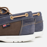Мужские ботинки Henri Lloyd Arkansa Boat Shoe Dark Brown/Dark Navy фото- 6