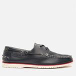 Lacoste Corbon 8 SRM Leather Men's Shoes Dark Blue photo- 0