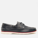 Мужские ботинки Lacoste Corbon 8 SRM Leather Dark Blue фото- 0