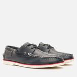 Lacoste Corbon 8 SRM Leather Men's Shoes Dark Blue photo- 1