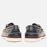 Lacoste Corbon 8 SRM Leather Men's Shoes Dark Blue photo- 3