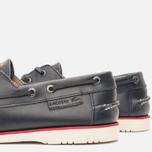 Lacoste Corbon 8 SRM Leather Men's Shoes Dark Blue photo- 7