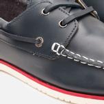Lacoste Corbon 8 SRM Leather Men's Shoes Dark Blue photo- 6