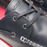 Lacoste Corbon 8 SRM Leather Men's Shoes Dark Blue photo- 5