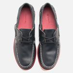 Lacoste Corbon 8 SRM Leather Men's Shoes Dark Blue photo- 4