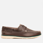 Мужские ботинки Lacoste Corbon 8 SRM Leather Dark Brown фото- 0