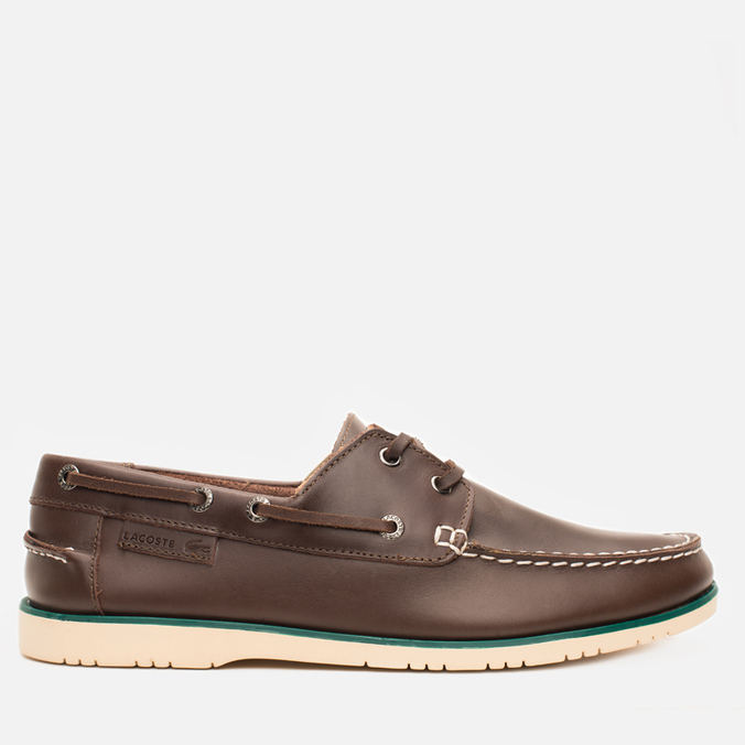 Мужские ботинки Lacoste Corbon 8 SRM Leather Dark Brown