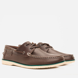 Мужские ботинки Lacoste Corbon 8 SRM Leather Dark Brown фото- 1